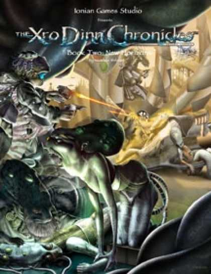 Role Playing Games - The Xro Dinn Chronicles - New Horizons