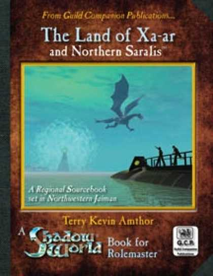 Role Playing Games - Shadow World: The Land of Xa-ar