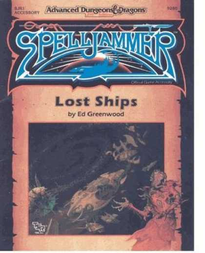 Role Playing Games - SJR1 - Lost Ships
