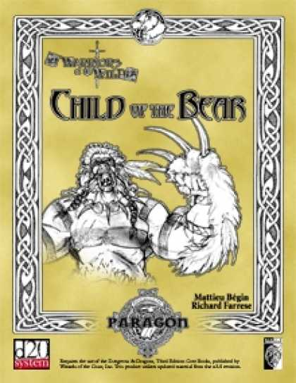 Role Playing Games - Child of the Bear