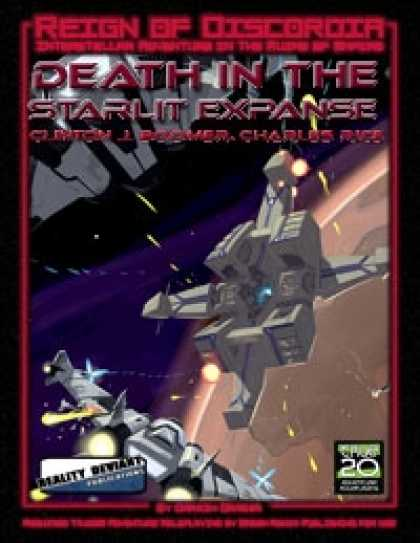 Role Playing Games - Reign of Discordia: Death in The Starlit Expanse