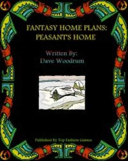 Role Playing Games - Fantasy Home Plans: Peasant's Home