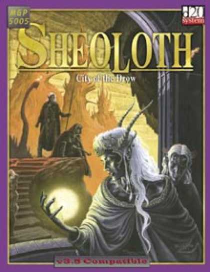 Role Playing Games - Sheoloth - City of the Drow