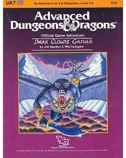 Role Playing Games - UK7 - Dark Clouds Gather