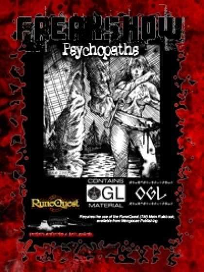 Role Playing Games - Freakshow - Psychopaths