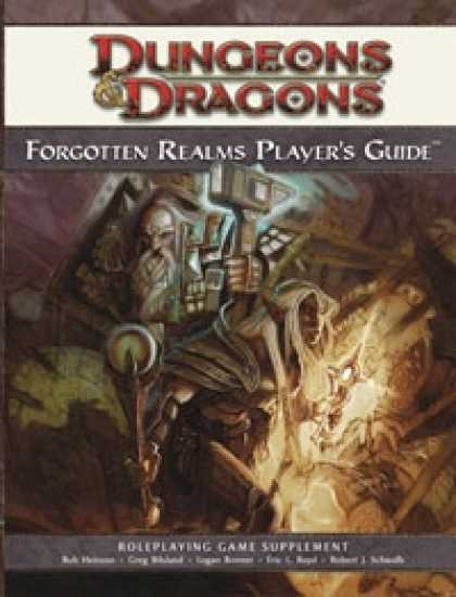 Role Playing Games - Forgotten Realms Player's Guide