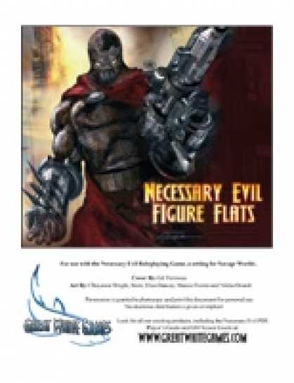 Role Playing Games - Necessary Evil Figure Flats