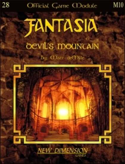 Role Playing Games - Fantasia: Devil's Mountain--Module M10