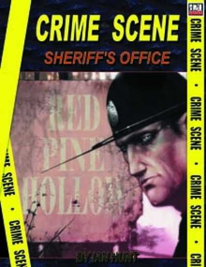 Role Playing Games - Crime Scene: SHERRIFS OFFICE - RED PINE HOLLOW