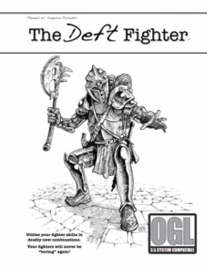 Role Playing Games - The Deft Fighter