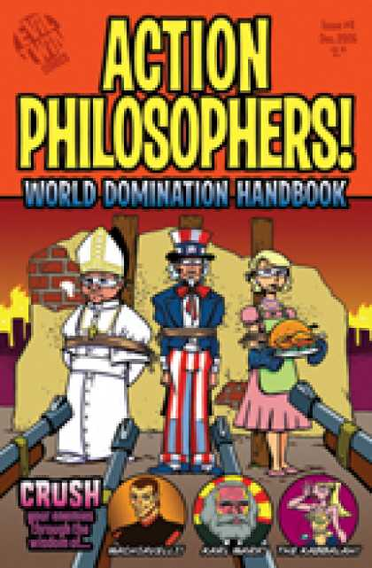 Role Playing Games - Action Philosophers #4: World Domination Handbook
