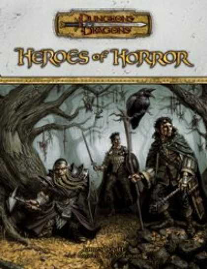 Role Playing Games - Heroes of Horror