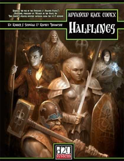 Role Playing Games - Advanced Race Codex: Halflings