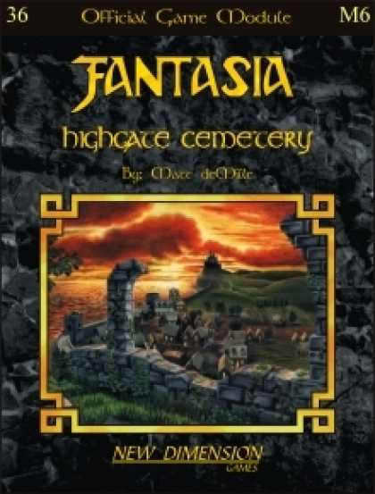 Role Playing Games - Fantasia: Highgate Cemetery--Module M6