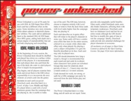 Role Playing Games - Power Unleashed