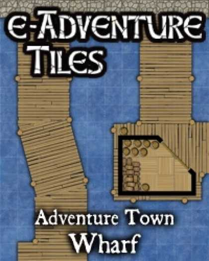 Role Playing Games - e-Adventure Tiles: Adventure Town - Wharf