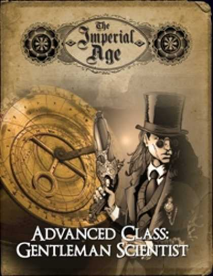 Role Playing Games - The Imperial Age: Advanced Class - Gentleman Scientist