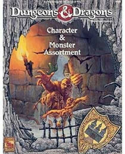 Role Playing Games - D&D Character & Monster Assortment