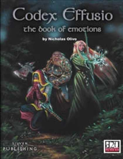 Role Playing Games - Codex Effusio - The Book of Emotions