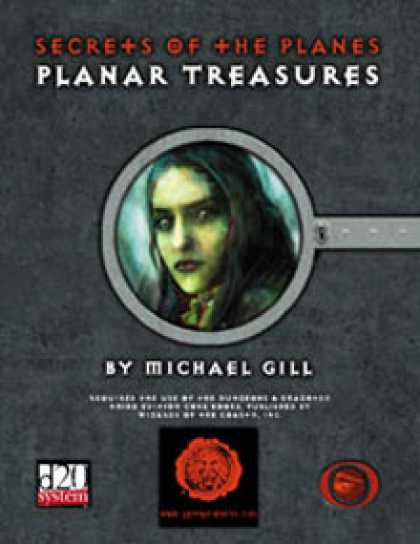 Role Playing Games - Lion's Den Press: Secrets of the Planes -- Planar Treasures