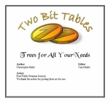 Role Playing Games - Two Bit Tables: Trees for All Your Needs