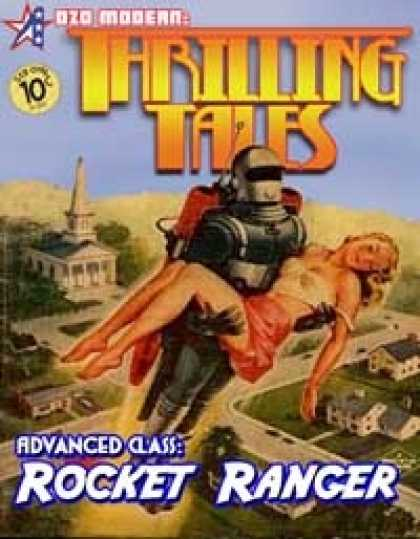 Role Playing Games - THRILLING TALES: Advanced Class-ROCKET RANGER