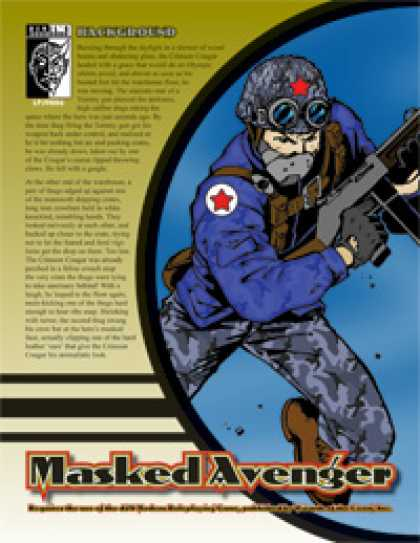 Role Playing Games - Prototype: Masked Avenger
