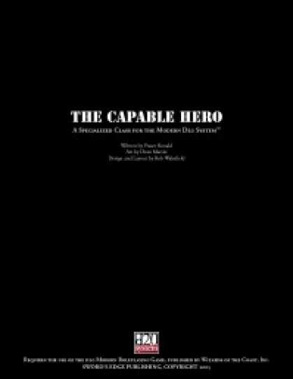 Role Playing Games - Capable Hero