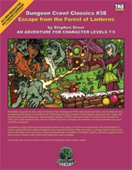 Role Playing Games - Dungeon Crawl Classics #38: Escape from the Forest of Lanterns