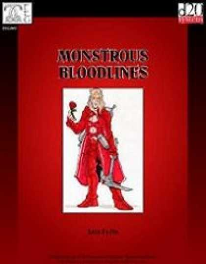 Role Playing Games - Monstrous Bloodlines