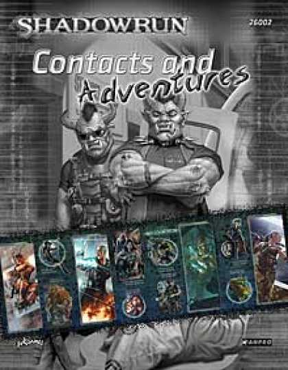 Role Playing Games - Shadowrun, Fourth Edition Gamemaster's Screen