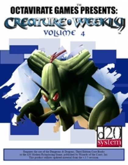 Role Playing Games - Creature Weekly Volume 4