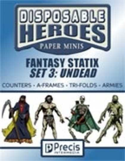 Role Playing Games - Disposable Heroes Fantasy Statix 3: Undead