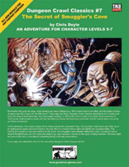 Role Playing Games - Dungeon Crawl Classics #7: The Secret of Smuggler's Cove