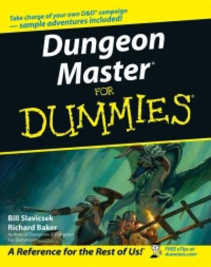 Role Playing Games - Dungeon Master For Dummies