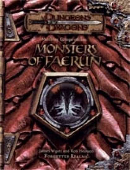 Role Playing Games - Monster Compendium: Monsters of Faer