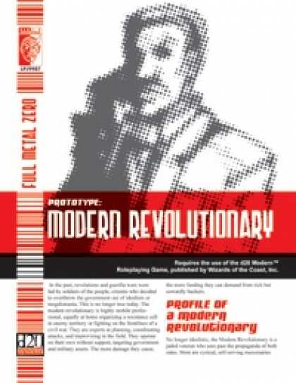Role Playing Games - Prototype: Modern Revolutionary