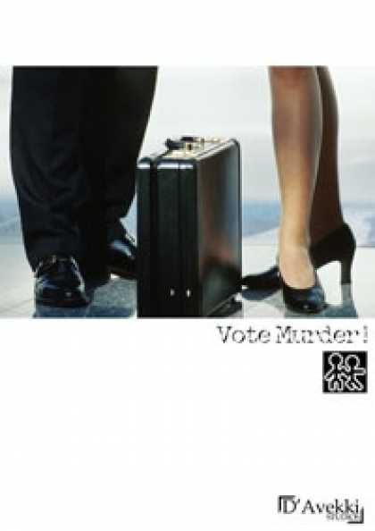 Role Playing Games - Murder for Two - Vote Murder!