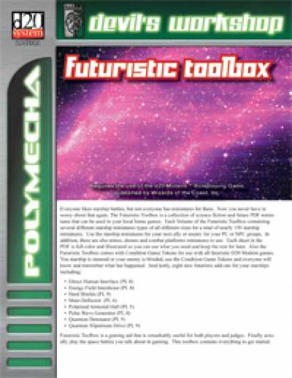 Role Playing Games - Futuristic Toolbox