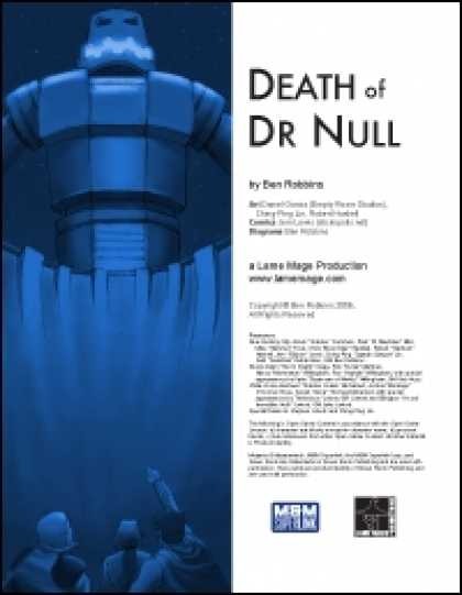 Role Playing Games - Death of Dr Null
