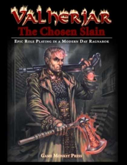 Role Playing Games - Valherjar: The Chosen Slain Core Rulebook