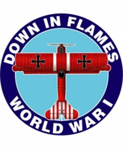 Role Playing Games - Down In flames WWI Card Game