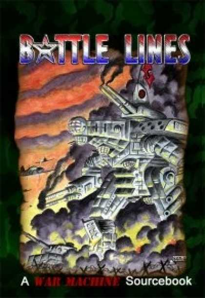 Role Playing Games - War Machine: Battle Lines Sourcebook