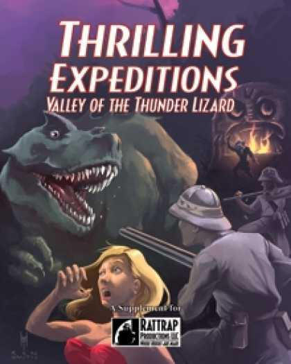 Role Playing Games - Thrilling Expeditions: Valley of the Thunder Lizard