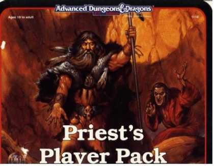 Role Playing Games - Priest Player Pack