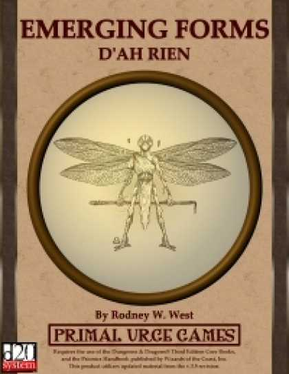 Role Playing Games - Emerging Forms - D'Ah Rien