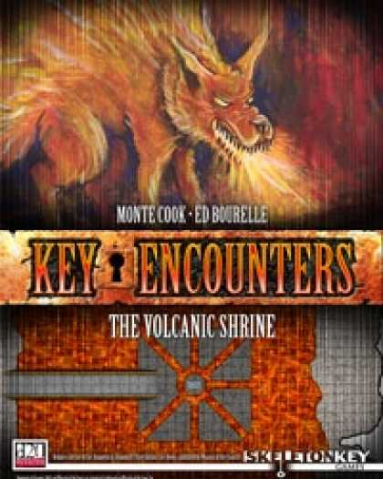 Role Playing Games - Key Encounters: The Volcanic Shrine