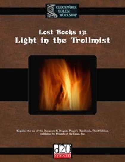 Role Playing Games - Lost Books 13: Light in the Trollmist