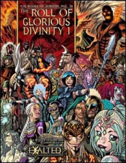 Role Playing Games - Books of Sorcery IV: Roll of Glorious Divinity: Gods & Elementals
