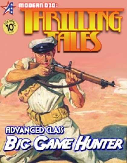 Role Playing Games - THRILLING TALES: Advanced Class- BIG GAME HUNTER